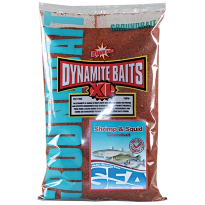 Immagine di Dynamite Sea Groundbait - Shrimp & Squid 1 Kg