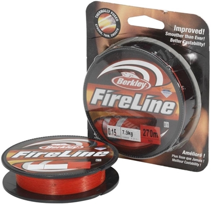 Immagine di Berkley Fireline Red 270 mt