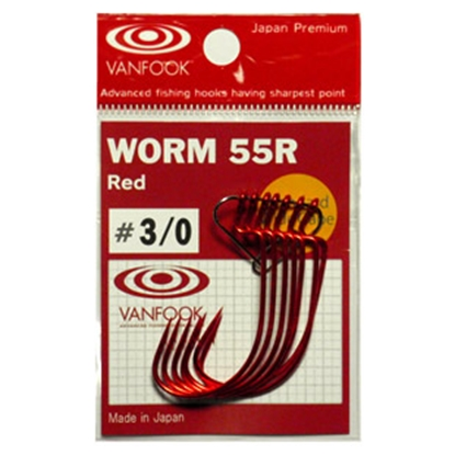 Immagine di Vanfook Worm 55 H. W. Mini Barb