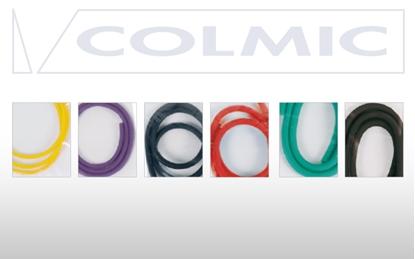Immagine di Colmic Elastici di Ricambio per Fionde 5 mm Rosso