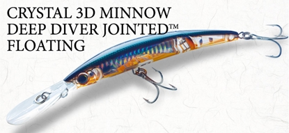 Immagine di Crystal 3D Minnow Deep Diver Jointed Floating