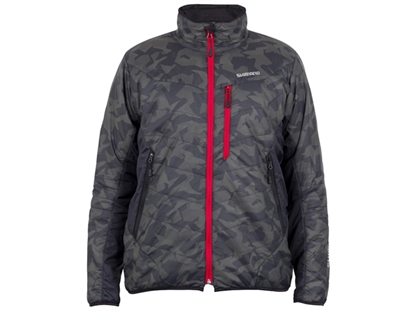 Immagine di Shimano Giacca Thermal Insulation Dark Coral Camo