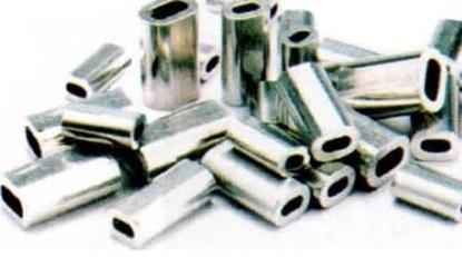 Immagine di Mini Ghierette in alluminio (lunghezza 7 mm)