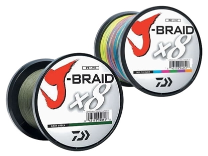 Immagine di Daiwa J-Braid X8 Dark Green 1500 mt