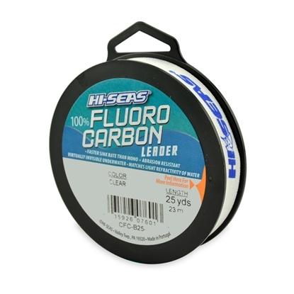 Immagine di Hi-Seas 100% Fluorocarbon Leader 23 mt