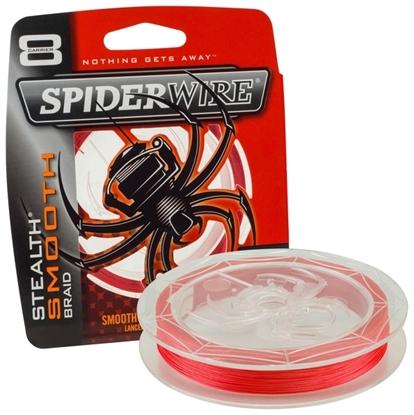 Immagine di Spiderwire Stealth Smooth 8 Red 300 mt