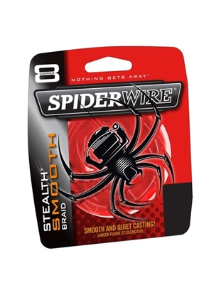 Immagine di Spiderwire Stealth Smooth 8 Red 1800 mt