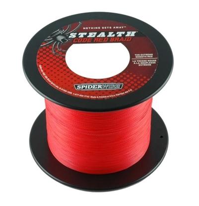 Immagine di Spiderwire Stealth Code Red Braid 1800 mt