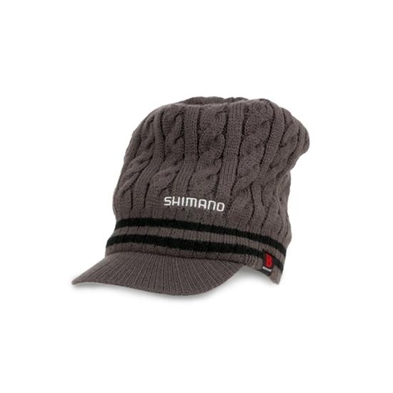 Immagine di Shimano Breath Hyper +℃ Knit Cap (with brim) Black