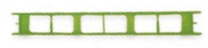 Immagine di Lineaeffe Stecche Avvolgilenza in plastica (Conf. 5 Pz)