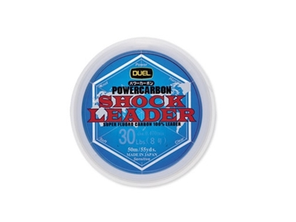 Immagine di Duel Powercarbon Shock Leader Fluorocarbon 100% 50 mt