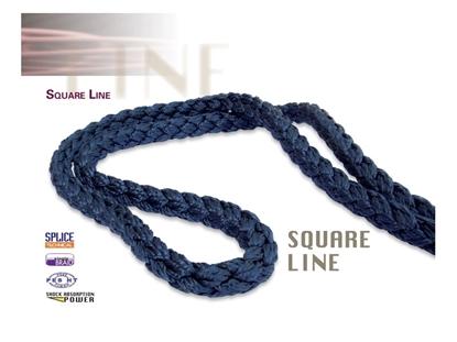 Immagine di Benvenuti Corda Square Line Gherlino 18 mm