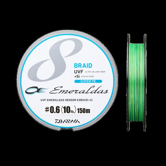 Immagine di Daiwa Emeraldas X8 UVF Braid 150 mt