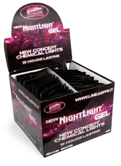 Immagine di Lineaeffe Confezione 100 NightLight Gel 3 x 25 Verde