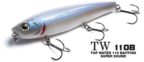 Immagine di Molix TW110B Top Water 110 Baitfish Super Sound