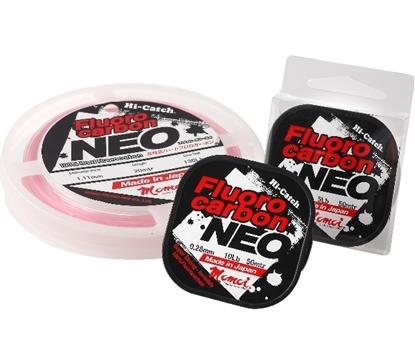 Immagine di Momoi Hi-Catch Fluorocarbon Neo Pink 25 mt