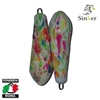 Immagine di Tournament anello inox plastificato Multicolore Fluo