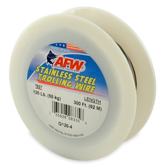 Immagine di AFW Stainless Steel Trolling Wire 91,5 mt