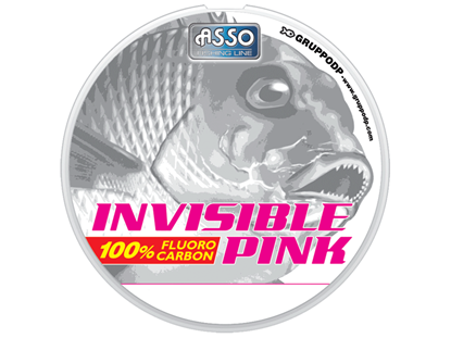 Immagine di Asso Invisible Pink 30 mt
