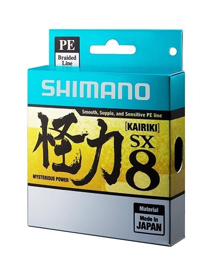 Trecciato Shimano Kairiki PE 0.20mm 17Kg 300mt matis green