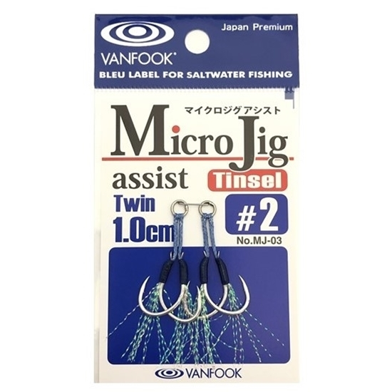 Immagine di Vanfook MJ-03 Micro Jig Assist Twin Tinsel