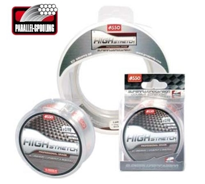 Immagine di Asso Superfluorocarbon High Stretch 50 mt