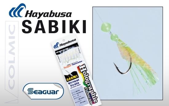 Immagine di Hayabusa Sabiki EX-110 Silver Fish Skin