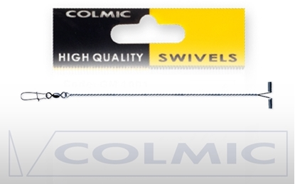 """Immagine di Colmic """"Y"""" Shape Balance with Swivel and Snap Nickel"""