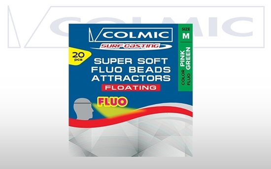 Immagine di Colmic Super Soft Fluo Beads Attractors Floating