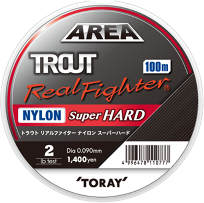 Immagine di Toray Trout Real Fighter Nylon Super Hard 100 mt