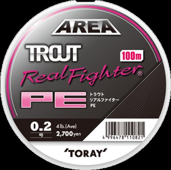 Immagine di Toray Trout Real Fighter PE 100 mt