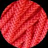 Immagine di Cavalieri Treccia Piattina HT 443 Rosso 2 mm