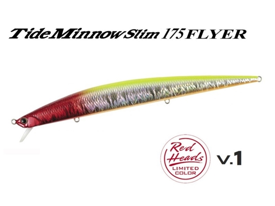 "Immagine di Duo Tide Minnow Slim 175 Flyer ""Red Heads Limited Series"""