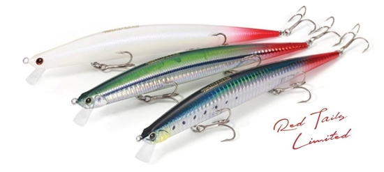 "Immagine di Duo Tide Minnow Slim 140 Flyer ""Red Tails Limited Series"""