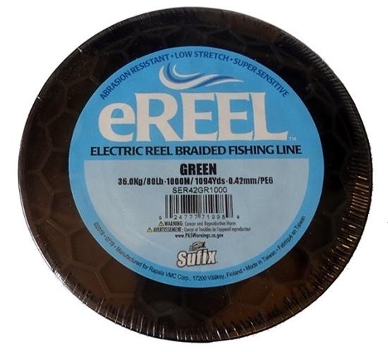 Immagine di Sufix E-Reel Green 1000 mt 0.42 mm